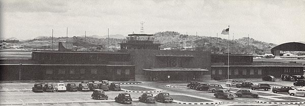 Albrook Field Terminal around 1943