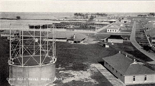 Coco Solo Naval Base about 1928